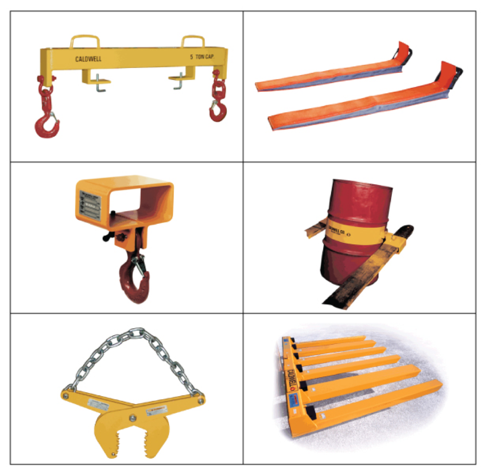 Fork Lift Attachment Options